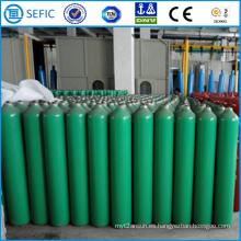 Cilindro de gas de acero sin costura de alta presión 40L (ISO219-40-15)