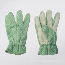 Садоводство перчатки-2602 ПВХ Пунктирной Леди