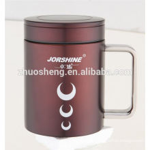 new style product double wall stainless steel ceramic mug cup with handle