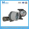 Installation horizontale 304 Rotamètre à métaux pour Dn15-Dn50