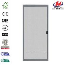 Standard White Metal Sliding Patio Screen Door