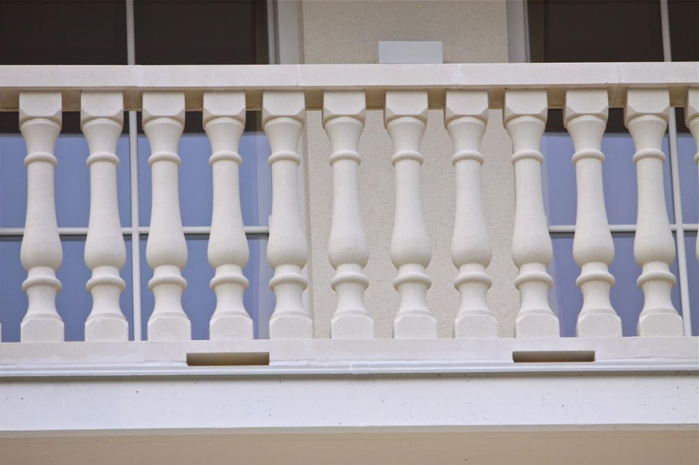 Natural Stone Carved Railing