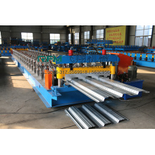 Baja Lantai Decking Roll Forming Machinery