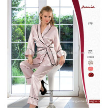 Pijama pijama de satén de seda