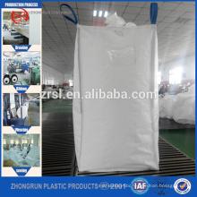 Cubic bag/Sling big bag for cement/Square bottom FIBC PP Jumbo bag ,ZHONGRUN CONTAINER Bag