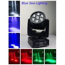 2016 A venda quente DMX RGBW 7x 12w conduziu as iluminações do estágio ou a iluminação barata do estágio