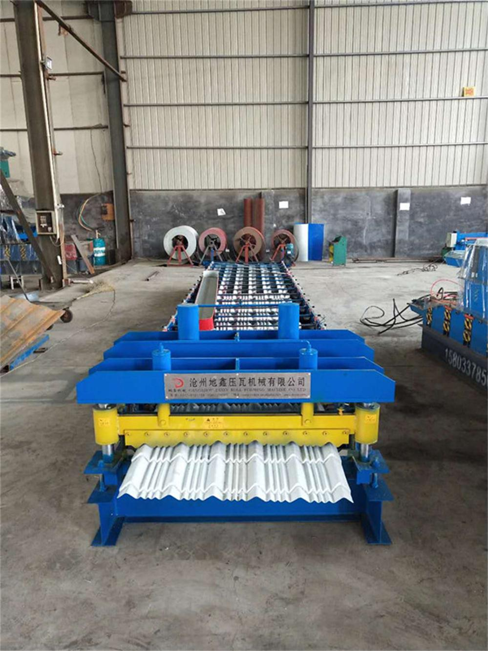 High Speed Glazed Roofing Panel Roll Forming Machine