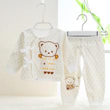 Ropa interior de la ropa recién nacida personalizada del otoño Suits2PCS