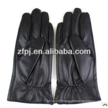 Men black winter protect hands top glove