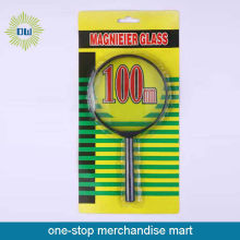 Office hand tool flat magnifier