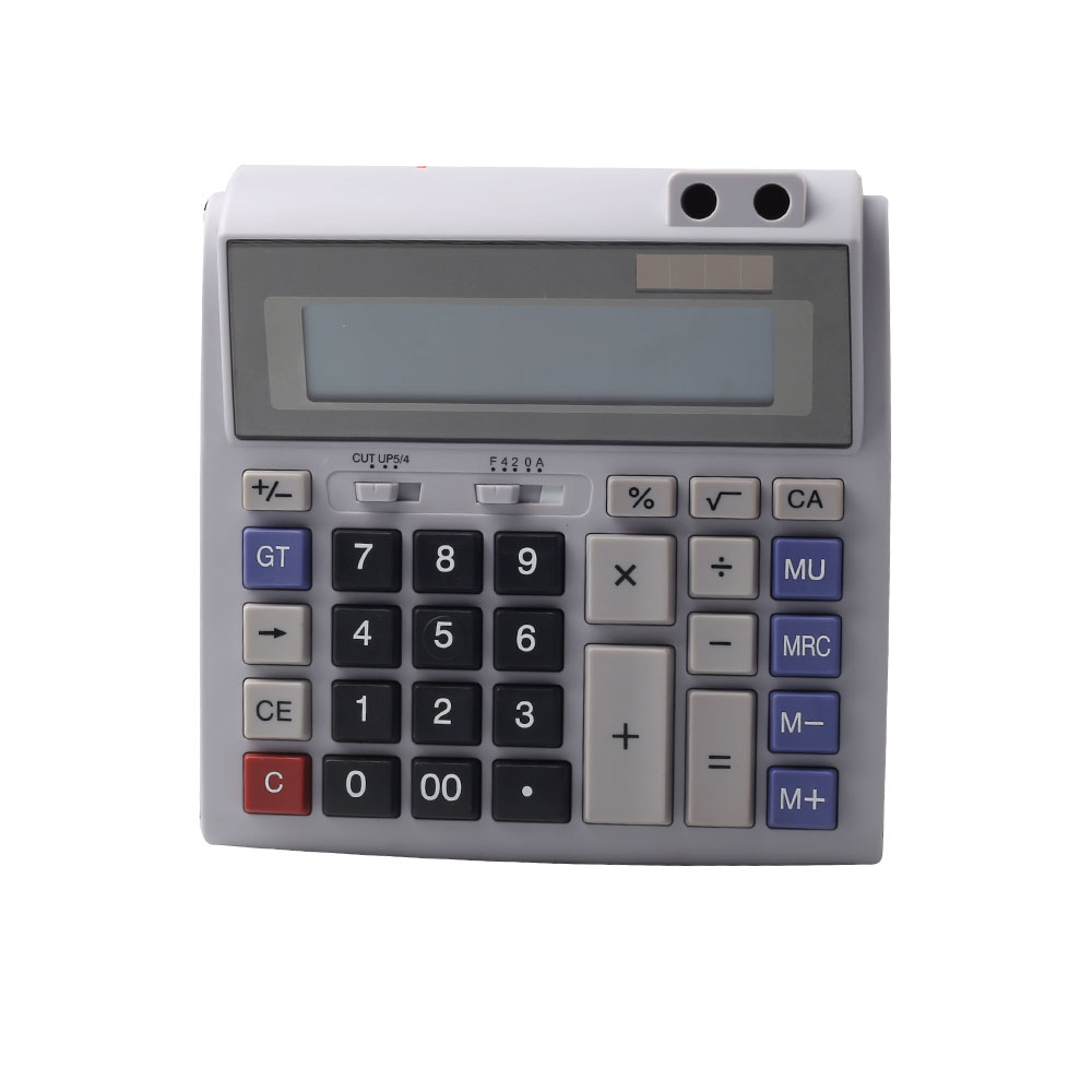 Dual Power Professional Business Office Calculator