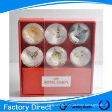 Hot Sale Customized Tourist Souvenir Dome Crystal Glass Magnet/Button Glass Fridge Magnets