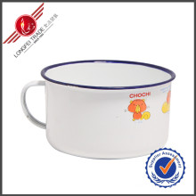 16cm Plafonnier pratique Tasses traditionnelles en émail élastique Tasses
