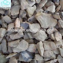 Refraktärgrad AL2O3 85% min Calcinierter Bauxit Bauxit Importeure