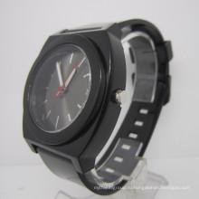 Мода Силиконовой лентой сплава часы (HLJA15017)