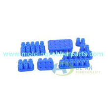 Food Grade Skid Proof Silicone Rubber Plug with 55 Shore A