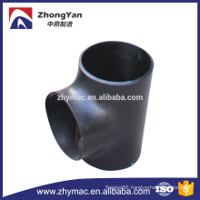 Schedule 40 steel pipe fittings, T connector pipe