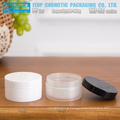 WJ-AS Series 80g and 100g straight angle high quality color customizable flat round single layer plastic cream pp round jar