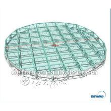 atractivo braguero de aluminio stand de la feria de la feria de la etapa de los sistemas de truss de techo armadura