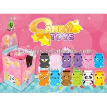 2013 juguetes calientes del caramelo de la caja de la historieta