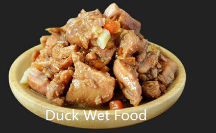 duck wet food