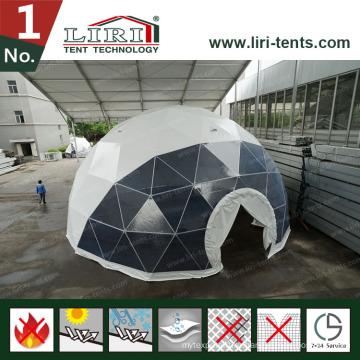 19м геодезический купол палатки с круглыми окнами для фильмов