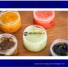 Plastik-klare Behälter-kosmetische Glas-Kappen-Creme-Make-upreise-Form