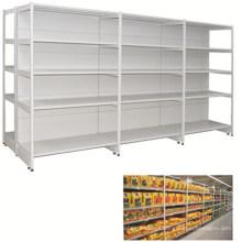 Double Side New Design Metal Supermarket Rack