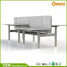 Venta caliente diseño moderno Electirc control altura ajustable escritorio