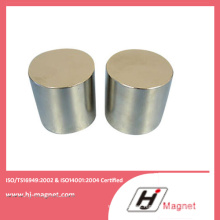 China Cylinder NdFeB Magnet Manufacturer Free Sample N50 Neodymium Permanent Magnet