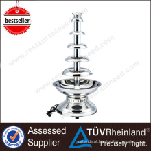 China Mainland Buffet Equipment 4 Tiers Mini Chocolate Fountain