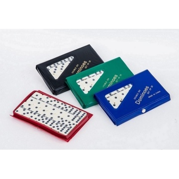 Double 12 Plastic Dominoes In PVC Box For Sale