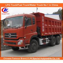 10 Wheels 20cbm Dongfeng Dalishen Dumper Truck/Tipper Truck