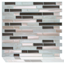 Smart decorative peel and kitchen tile sticker mosaic