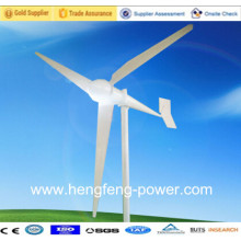 Tipo de turbina de vento 5kw eficiência elevada CE elétrico gerando moinhos de vento