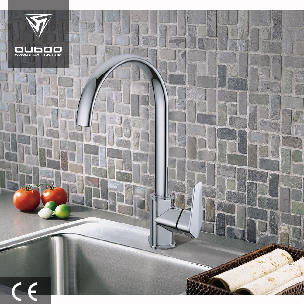 Single lever kitchen faucet