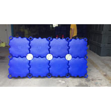 Pontoon for floating dock high bouyancy plastic pier high quality factory prices