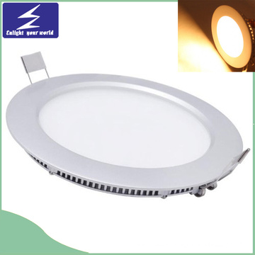 Hot Sell Round LED Ultra-Slim Panel Light avec Ce RoHS