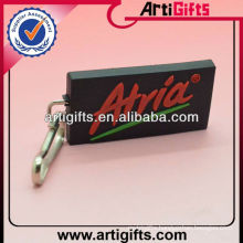 Cheap soft pvc custom logo zipper puller