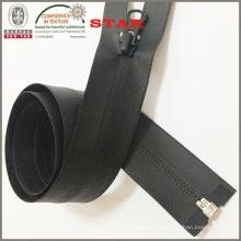 (5 #) Balck impermeável Open End Zipper