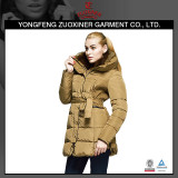 main new women padding polyester coat fur collar