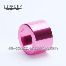 18мм розового золота алюминиевый флакон бутылки воротник