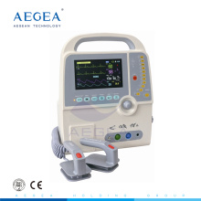 AG-DE001C automatic oscillation manual synchronized asynchronized hospital defibrillator monitor for sale