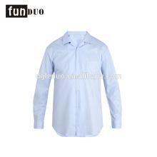 Chemises bleues hommes à manches longues t-shirt ventiler travail robe bleu chemises hommes à manches longues t-shirt ventiler la robe de travail