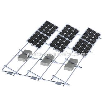 Bâti de panneaux solaires de toit plat de panneau de picovolte