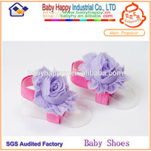 newborn baby popular style barefoot sandals