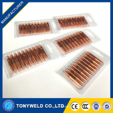 M6*45mm 180A mig welding contact tip 1.2/0.8/1.0/0.9