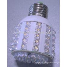 Huerler e27 / e26 / b22 AC220v 4.5-5.5w lampe moulée douce