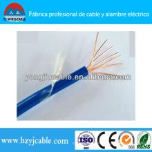 Fil en caoutchouc en nylon gainé de nylon à isolation en PVC