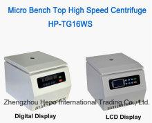 Microganism cao tốc độ băng ghế dự bị hàng đầu máy ly tâm (HP-TG16WS)
